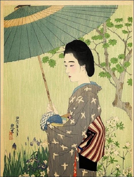Sobre la historia del paraguas