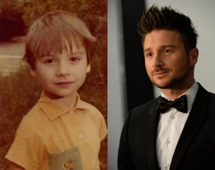 Зарубежные и отечественные знаменитости в детстве