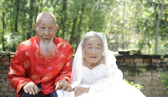 Первые свадебные фото за 80 лет брака