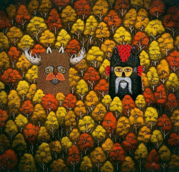 Мистические рисунки от Энди Кехо