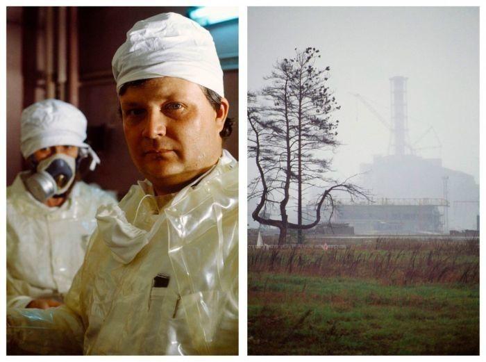 Мрачные фотографии из четвертого реактора ЧАЭС, сделанные в 1990 году
