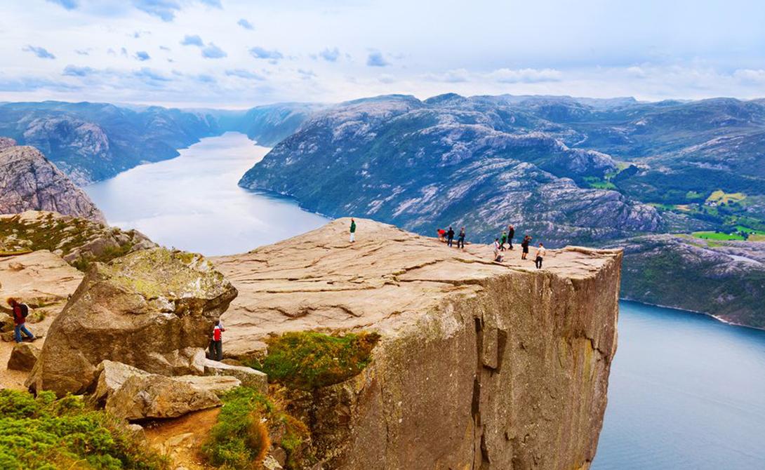 10 потрясающих видов с большой высоты