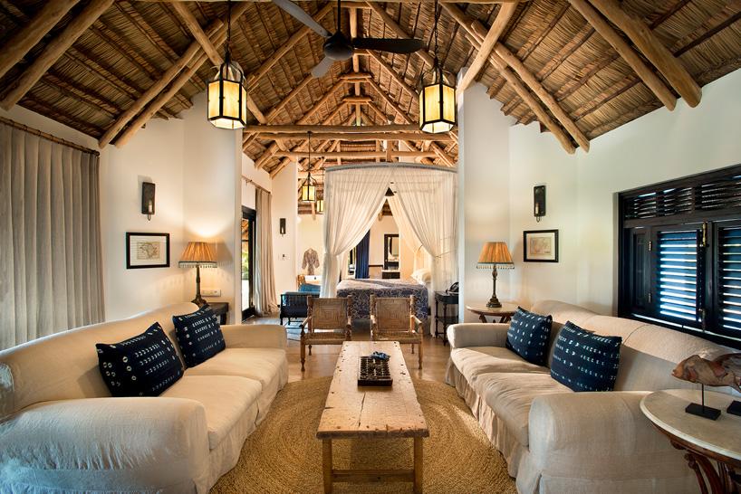 Экзотический отель на острове в Индийском океане