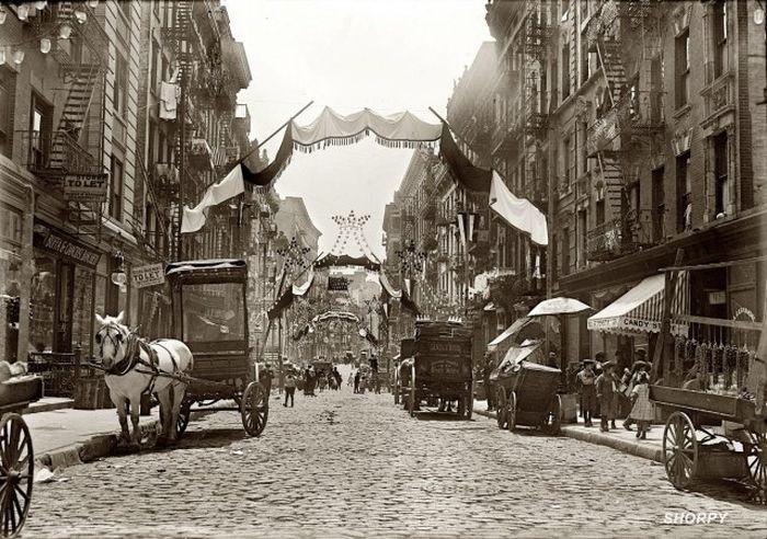 Каким был Нью-Йорк в начале прошлого столетия