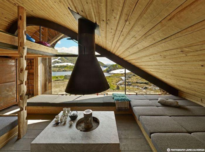 Современная хижина в Норвегии