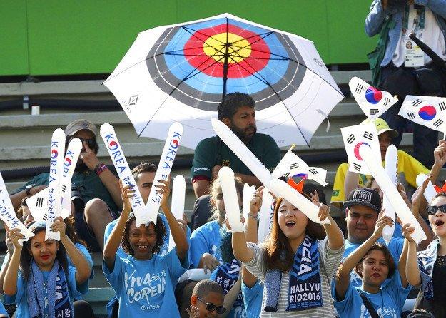 Яркие и необычные болельщики на Олимпиаде в Рио