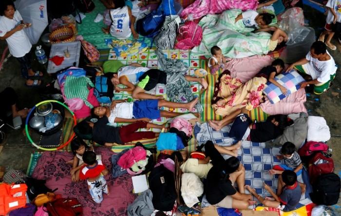 Сильное наводнение на Филиппинах