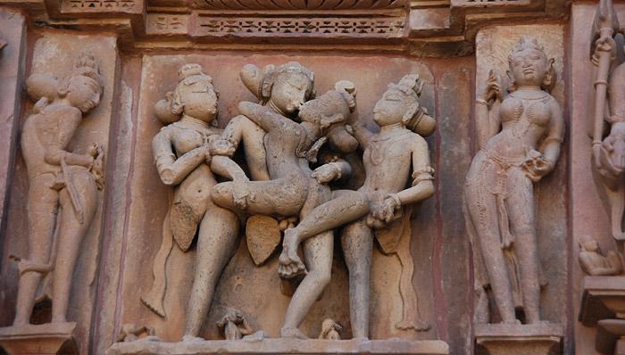 История храмов любви и разврата в Индии