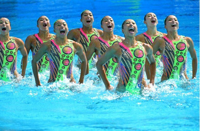 Забавное синхронное плавание на Олимпиаде 2016