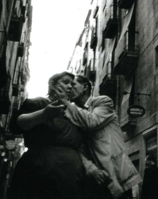 Бедный квартал Барселоны в начале второй половины XX века