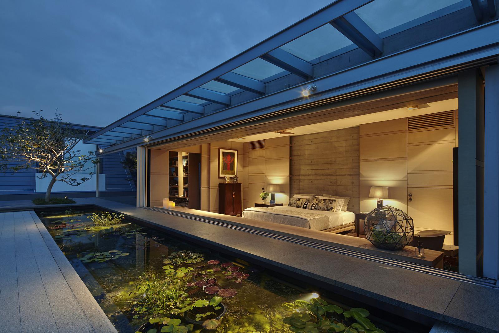 Необычный дом в Сингапуре