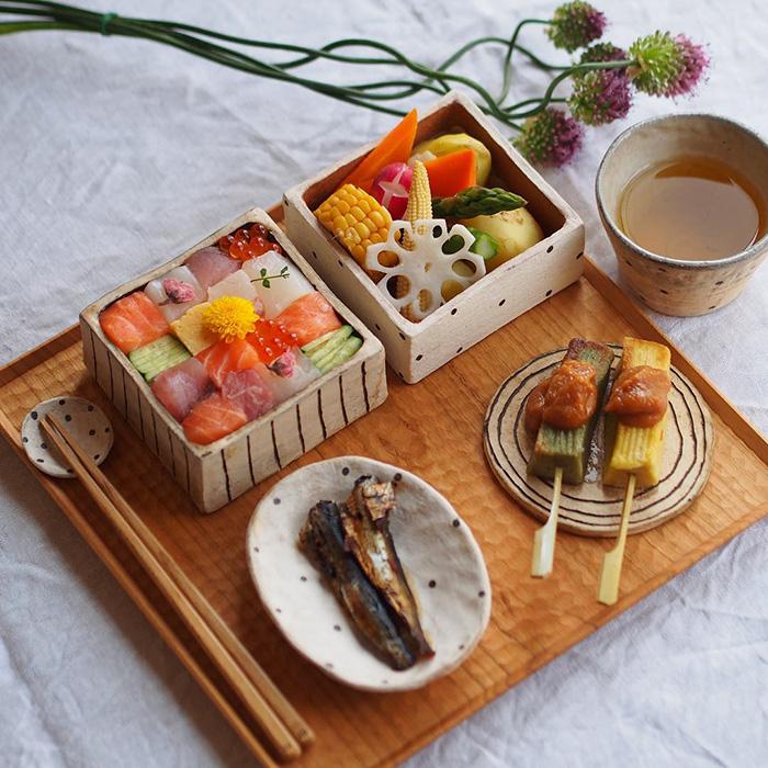 Мозаика из суши - последний тренд японской кулинарной моды
