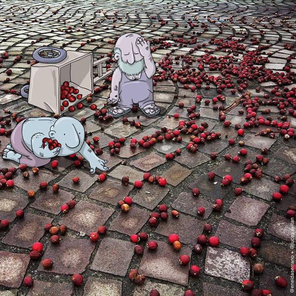 Креативные работы от художника Лукаса Левитана