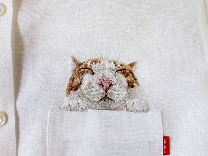 Чудесные карманные котики от японского дизайнера
