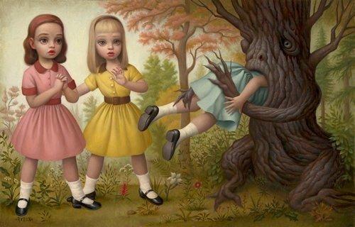 Необычные и странные картины Марка Райдена