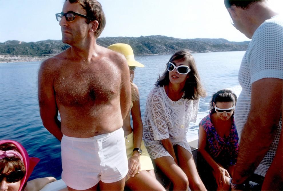 Сливки американского и европейского общества на отдыхе в 1960-х годах