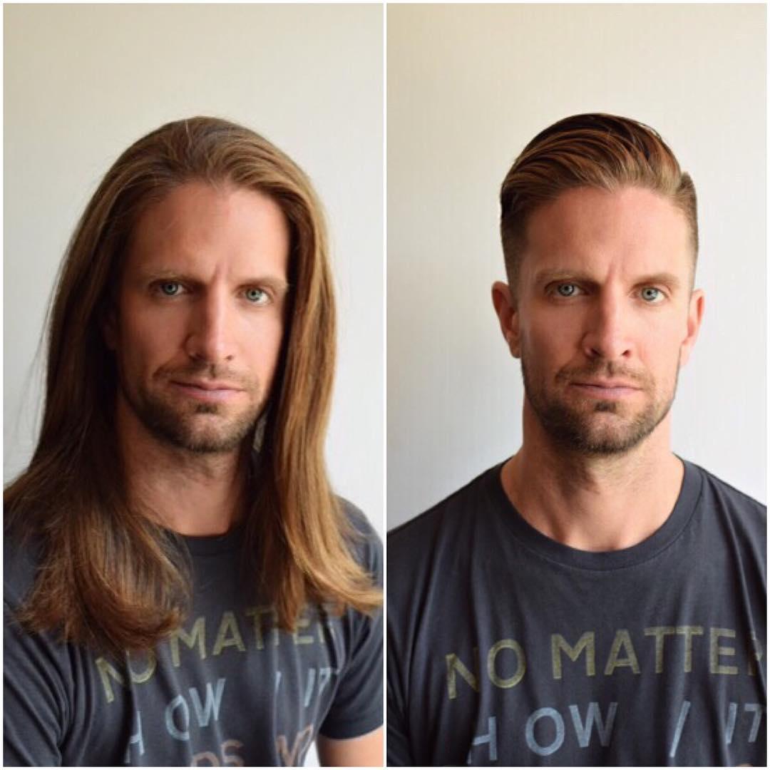 13 примеров того, как прическа может преобразить мужчину