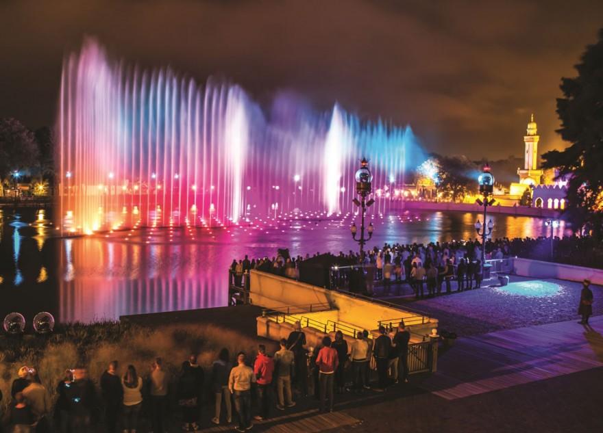 Невероятные и красивые фонтаны мира