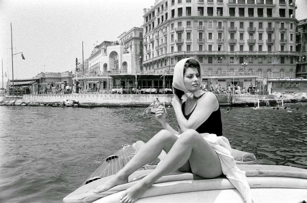 Фотографии Софи Лорен, не предназначенные для публикации