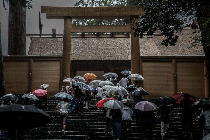 Красота Японии в сезон дождей