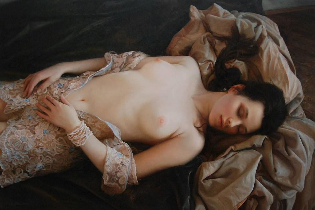 20 удивительно реалистичных картин, воспевающих женскую красоту и очарование