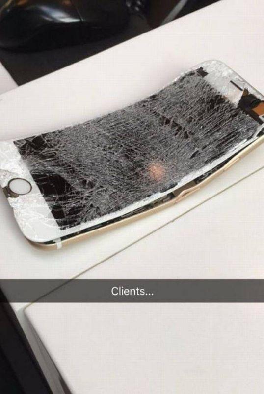 Неприятности случаются и электронная техника