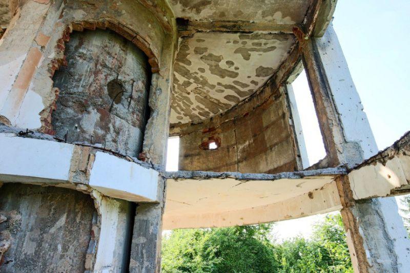 Заброшенная астрономическая обсерватория Чолина Капа