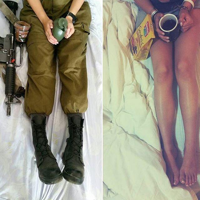Красивые девушки — военнослужащие израильской армии