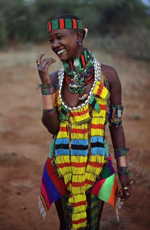 Нелегкий быт аборигенов Эфиопии