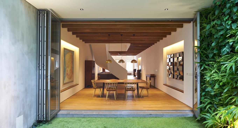 Реставрация дома начала XX века в Сингапуре