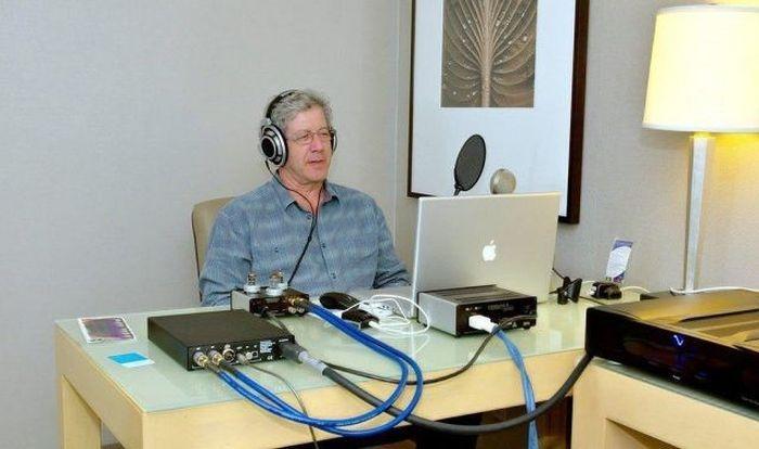 Типичное логово продвинутого аудиофила