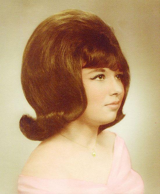 Популярные женские прически 60-х годов XX века