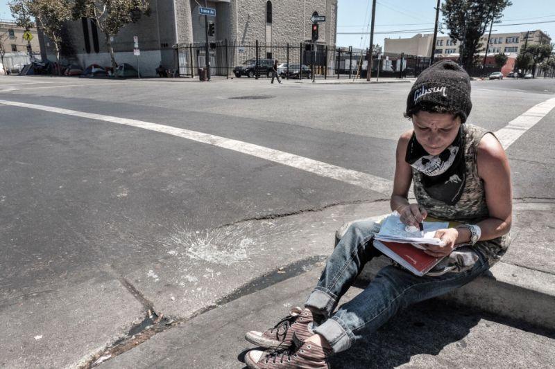 Трущобы Скид Роу Лос-Анджелеса