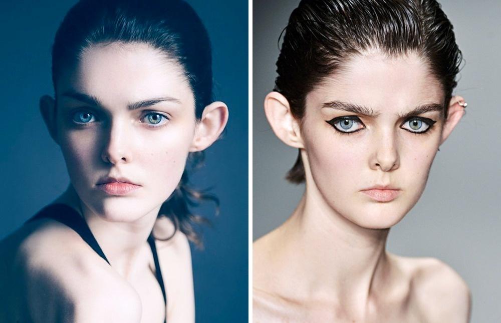 15 modelos demostraron que la apariencia con un toque es genial