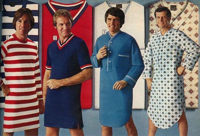 Незабываемая мужская мода 70-х