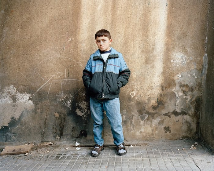 Эмоциональный фотопроект Невидимые дети