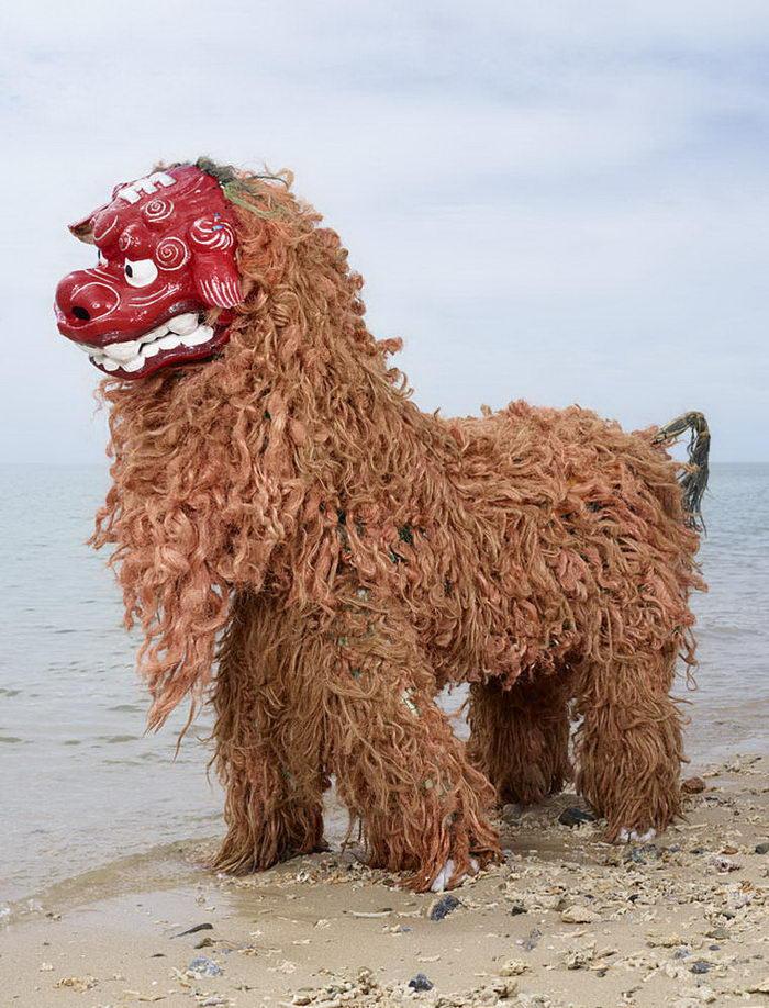 Ритуальные костюмы монстров в Японии