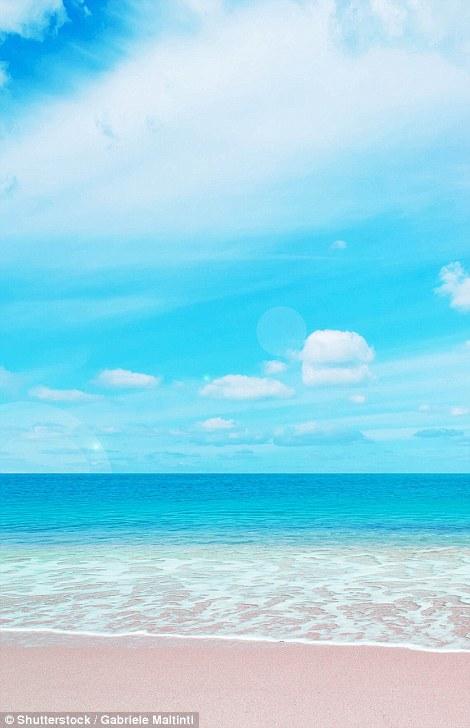 Таинственные пляжи с розовым песком