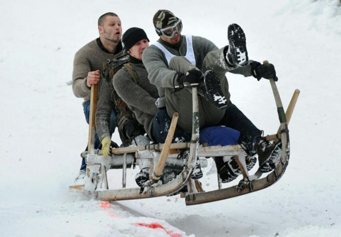 Зимние забавы и развлечения
