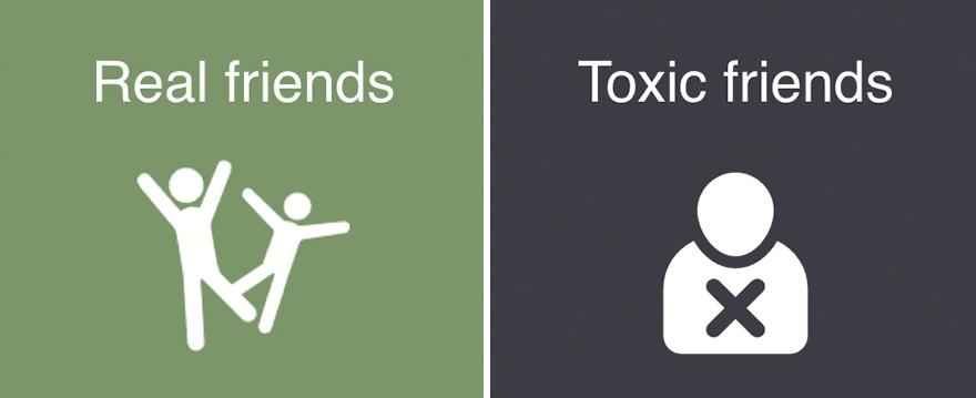 Как отличить настоящего друга от токсичного