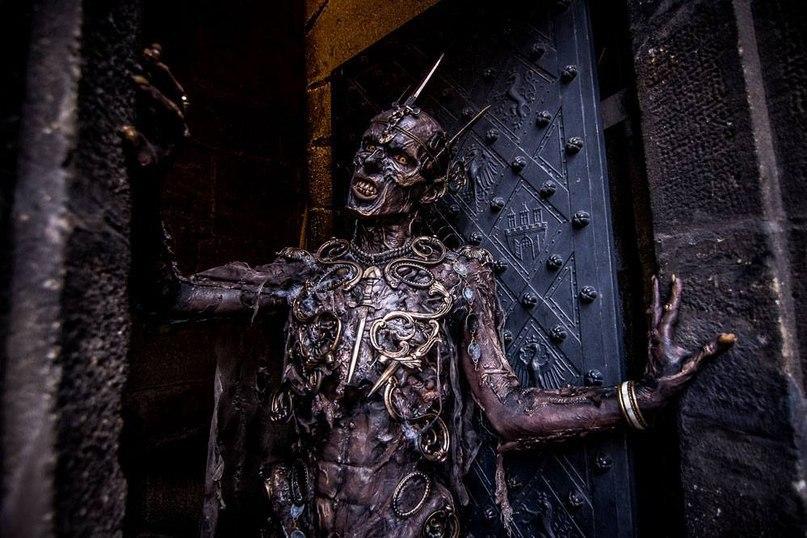 Король Зомби к Хэллоуину