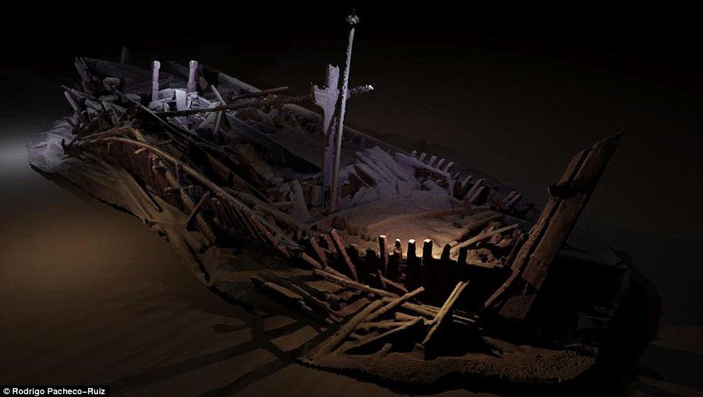 Кладбище древних кораблей в Черном море