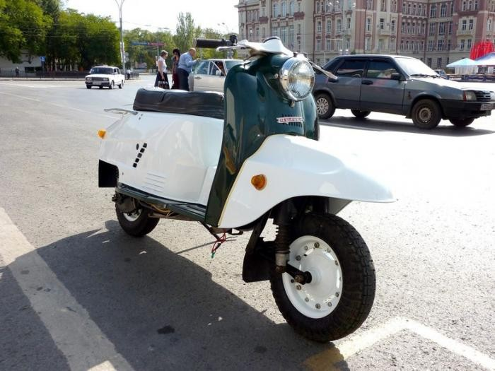 Легендарные советские мотороллеры