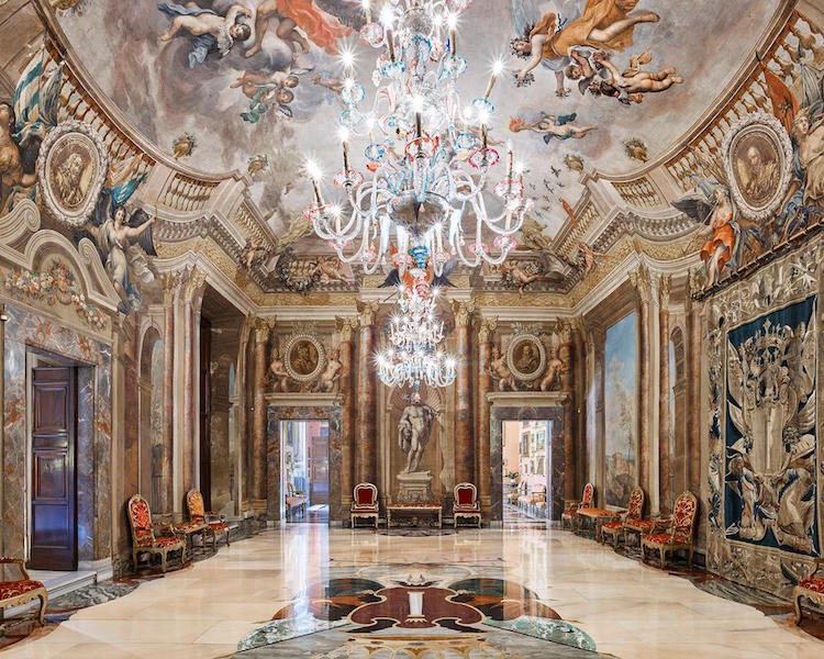 Интерьеры итальянских дворцов, от которых глаз невозможно оторвать