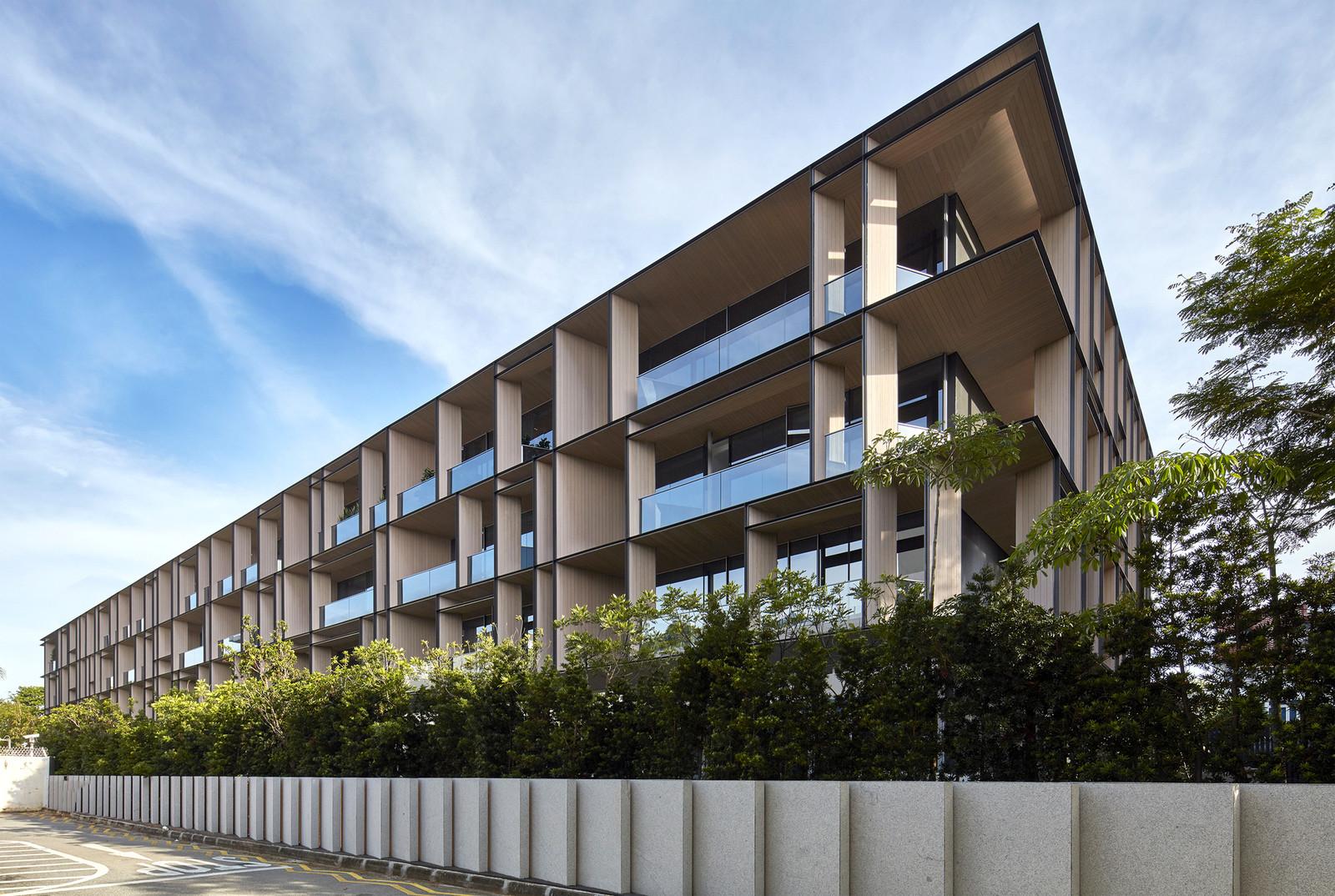 Многоквартирный дом в Сингапуре
