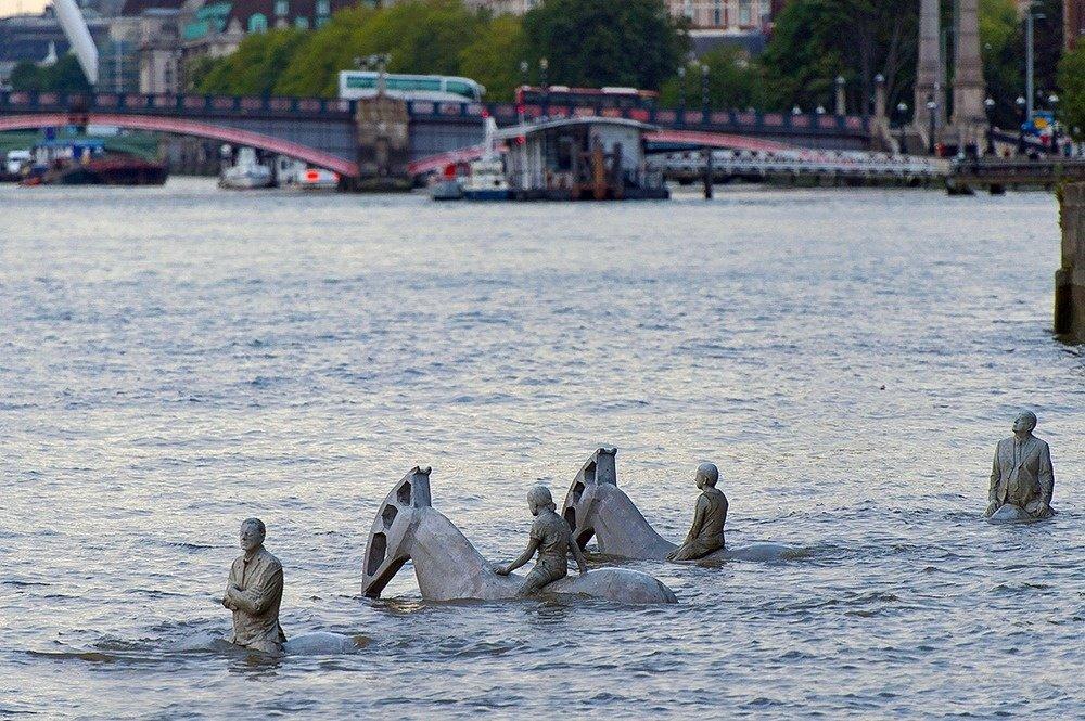 Удивительные достопримечательности, уходящие под воду во время прилива
