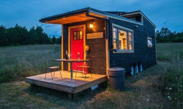 Передвижной дом для тех, кто не привык сидеть на месте