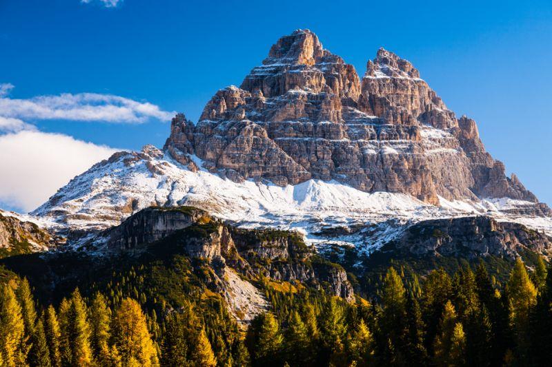 Осень в Итальянских Доломитах