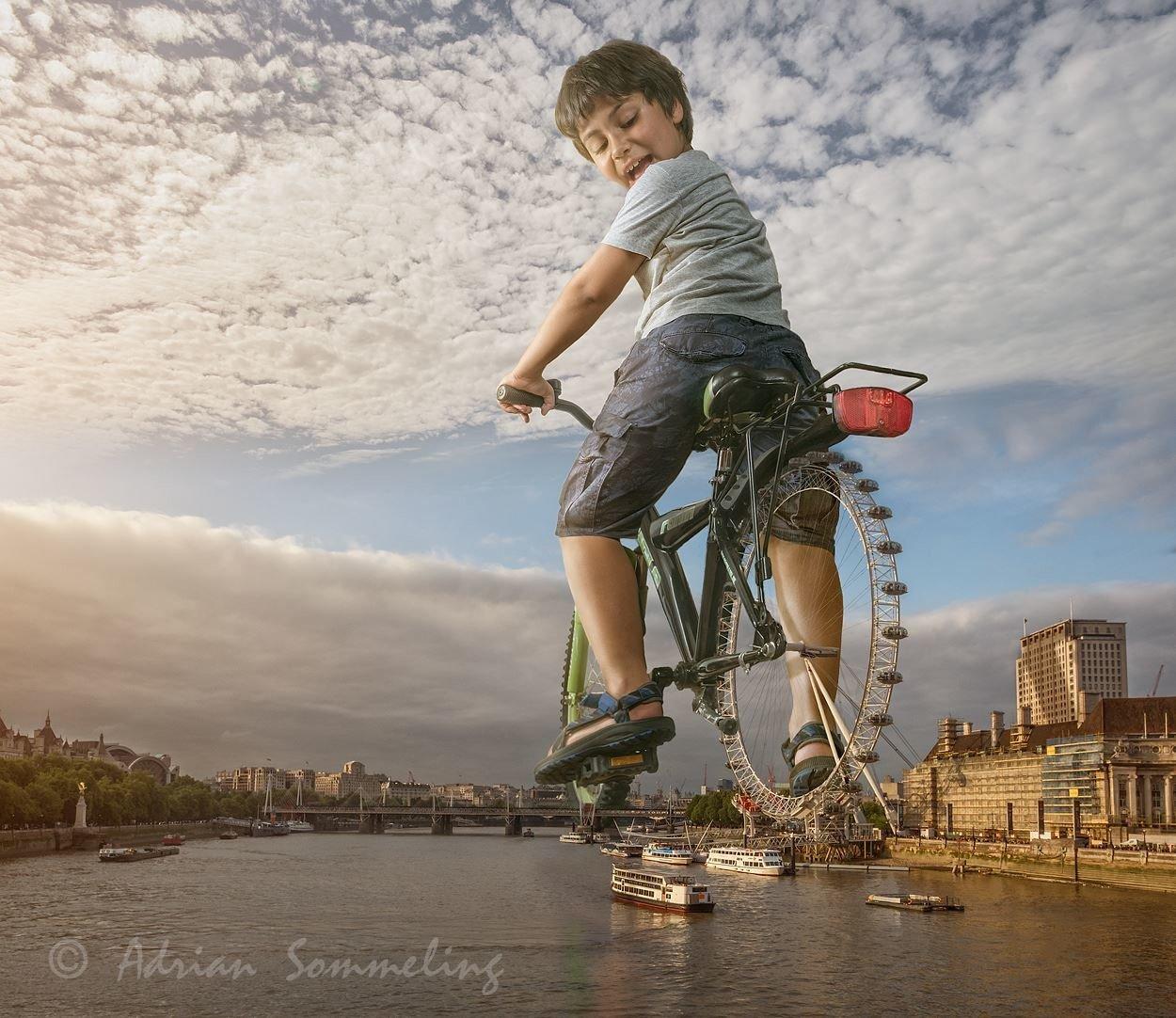Детство в кадре фотографа Эдриана Соммелинга