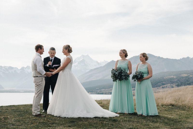 Красивые свадебные фотографии от Микки Росса